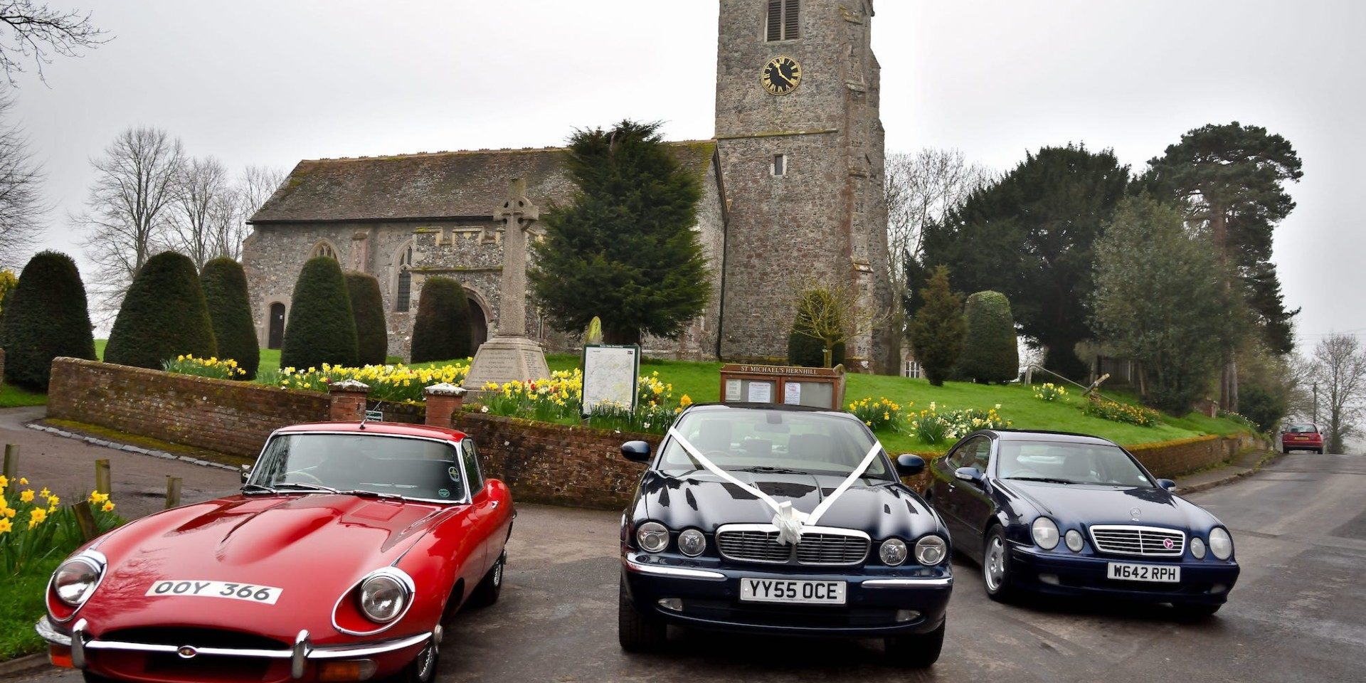 Kent Classic Wedding Cars Fleet