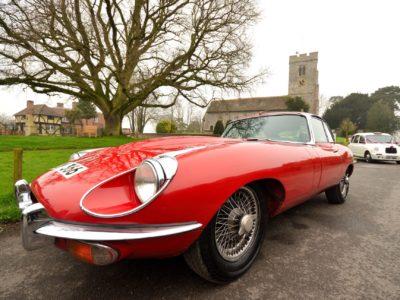 Jaguar E-Type | Kent Classic Wedding Cars