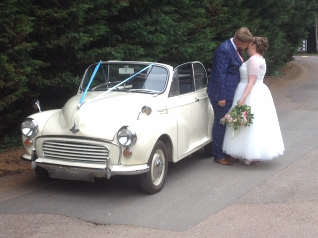 Morris Minor - Perfect for Weddings